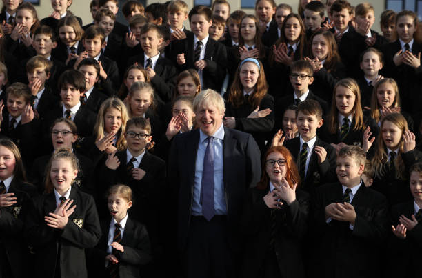 GBR: Boris Johnson Campaigns For The Conservatives In Devon