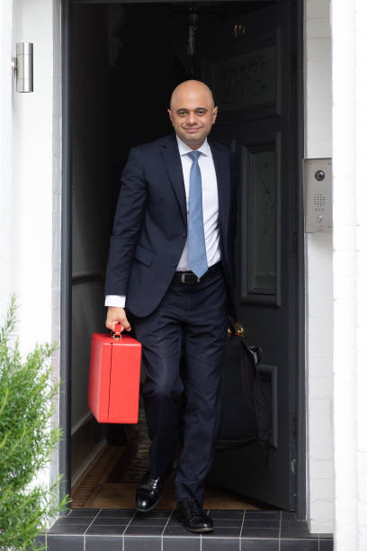 GBR: Conservative Party Leadership Contender Sajid Javid Leaves His Home