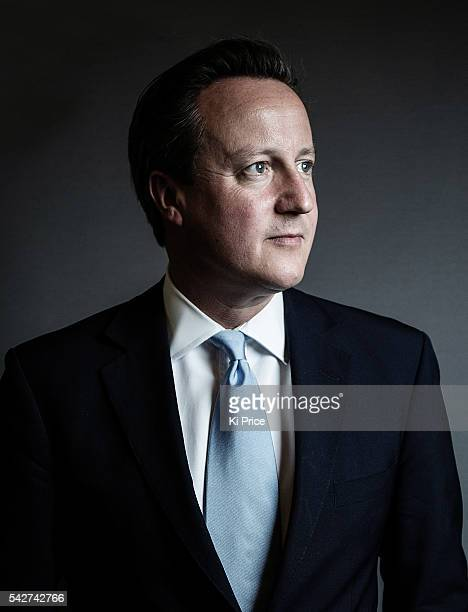 Conservative party politician and current Prime Minister David Cameron is photographed for the Times on June 19 2014 in London England