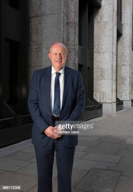 Conservative party politician Damian Green is photographed for the Observer on May 19 2017 in London England