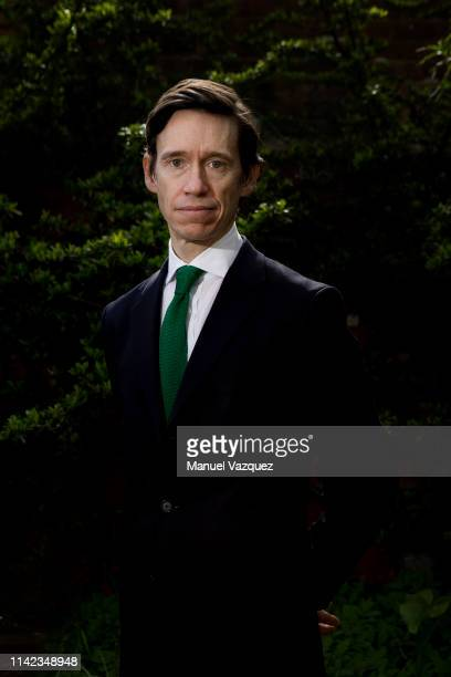 Conservative party politician Rory Stewart is photographed for Liberation on March 24 2019 in London England