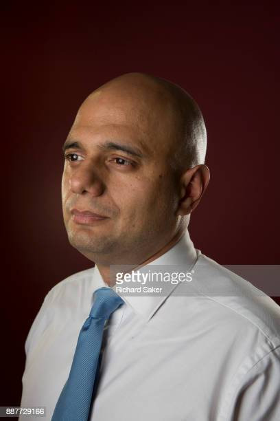 Conservative party politician Sajid Javid is photographed for the Guardianon September 29 2017 in London England