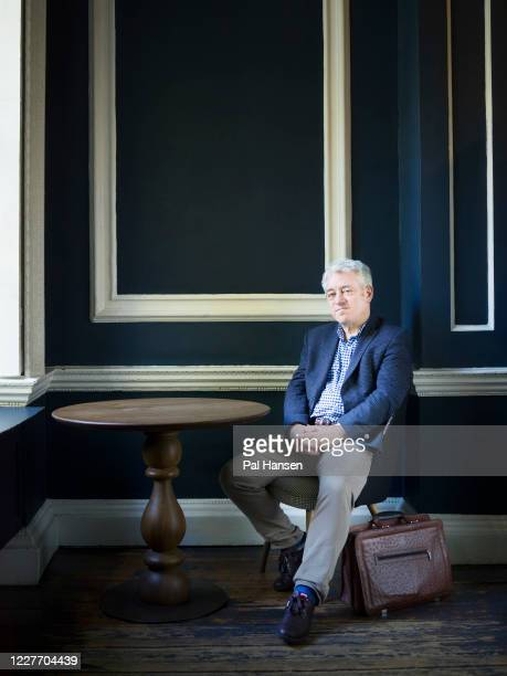 Conservative party politician Speaker of the House of Commons from 2009 to 2019, John Bercow is photographed for the Observer on November 4, 2019 in...