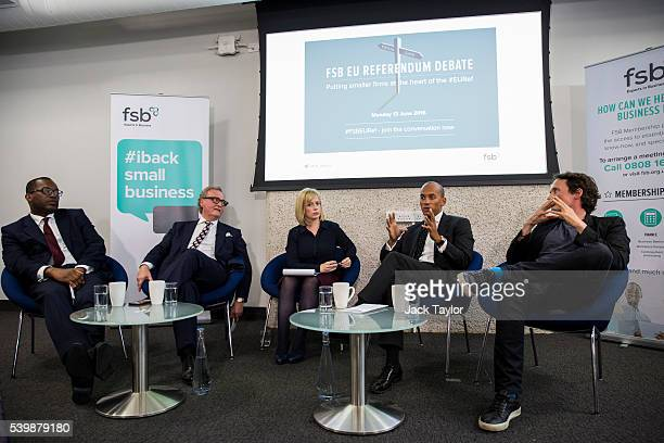 Conservative politician Kwasi Kwarteng former DirectorGeneral of the British Chambers of Commerce John Longworth presenter Polly Evans Labour...