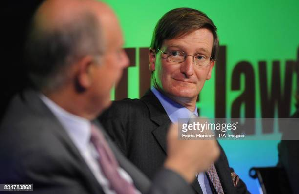 Conservative Shadow Home Secretary Dominic Grieve at the launch Reform's Lawful Society report on the nature of crime and the incentives in the...