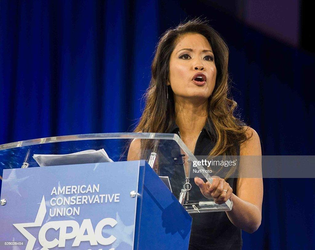 Michelle Malkin Speaks at CPAC : News Photo