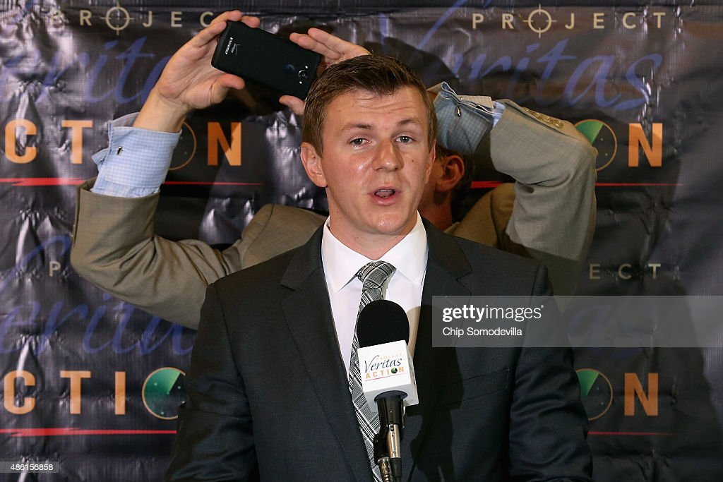 Conservative Activists James O'Keefe Releases Undercover Video Regarding Hillary Clinton's Campaign : News Photo