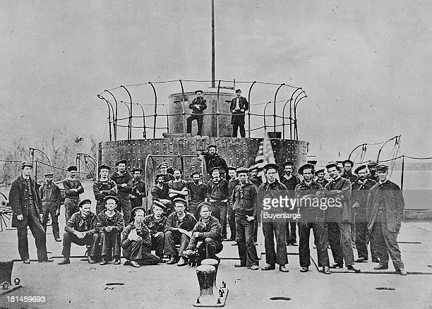 Consisting of a revolving turret mounted on a low armored deck the design of the Monitor was likened to a 'cheese box on a raft' Possessing a low...