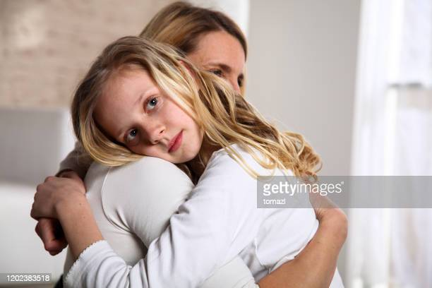 consoling mother - divorce kids stock pictures, royalty-free photos & images
