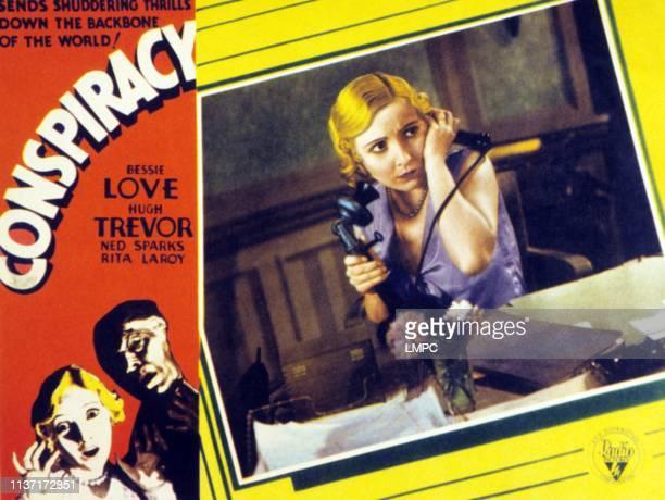 Conspiracy lobbycard Bessie Love on lobbycard 1930