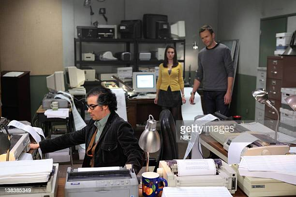 COMMUNITY Conspiracy Theories and Interior Design Episode 210 Pictured Kevin Corrigan as Professor Woolley Alison Brie as Annie Joel McHale as Jeff