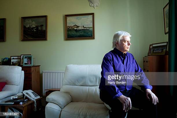 Conspiracy theorist David Icke is photographed for the Sunday Times magazine on April 2, 2013 in Ryde, England.