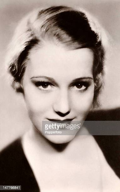 Constance Cummings American stage and film actress circa 1934