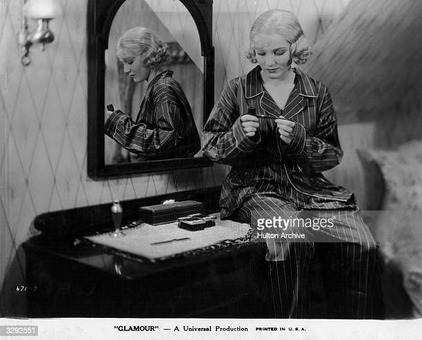 Constance Cummings stars in the film 'Glamour' which depicts the day in the life of a Broadway star The film was directed by William Wyler for...