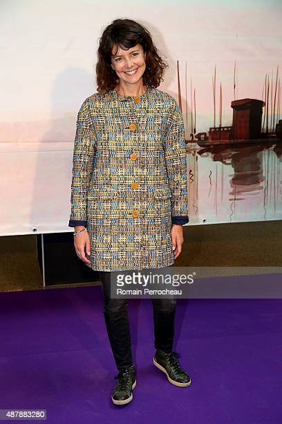 Constance Dolle attends the photocall of as part of the 17th Festival of TV Fiction of La Rochelle on September 12, 2015 in La Rochelle, France.
