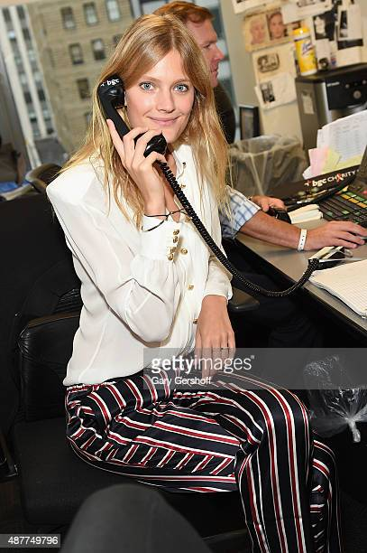 Constance Jablonski attends Annual Charity Day hosted by Cantor Fitzgerald and BGC at BGC Partners, INC on September 11, 2015 in New York City.