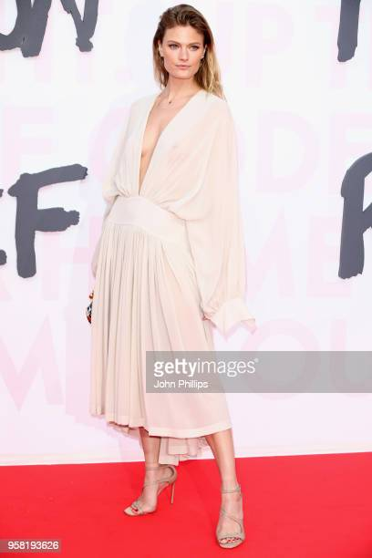 Constance Jablonski attends Fashion for Relief Cannes 2018 during the 71st annual Cannes Film Festival at Aeroport Cannes Mandelieu on May 13 2018 in...
