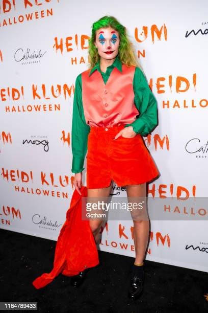 Constance Jablonski attends Heidi Klum's 20th Annual Halloween Party at Cathédrale on October 31 2019 in New York City