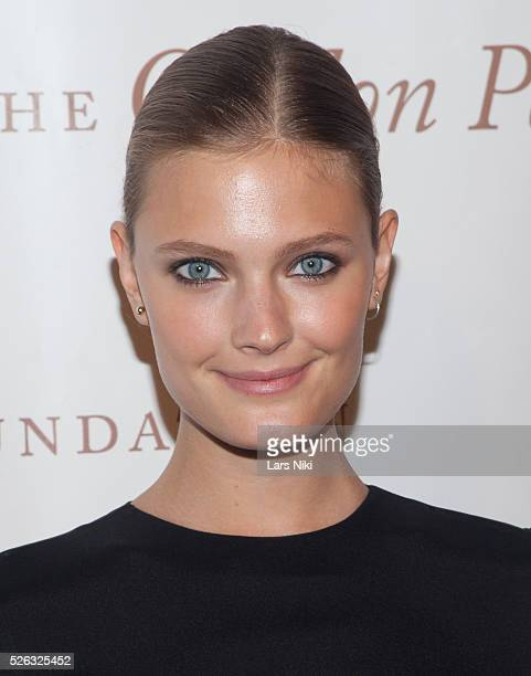 Constance Jablonski attends the Gordon Parks Foundation Awards Dinner at the Plaza Hotel in New York City �� LAN