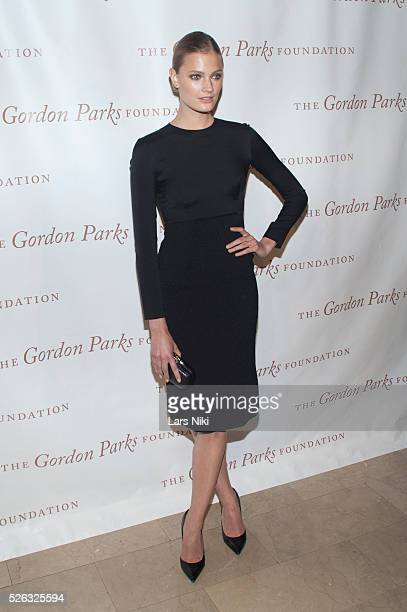 Constance Jablonski attends the Gordon Parks Foundation Awards Dinner at the Plaza Hotel in New York City �� LAN