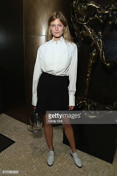 Constance Jablonski attends the Liya Kebede and David Yurman hosted instore event to benefit The Liya Kebede Foundation at David Yurman Soho Boutique...