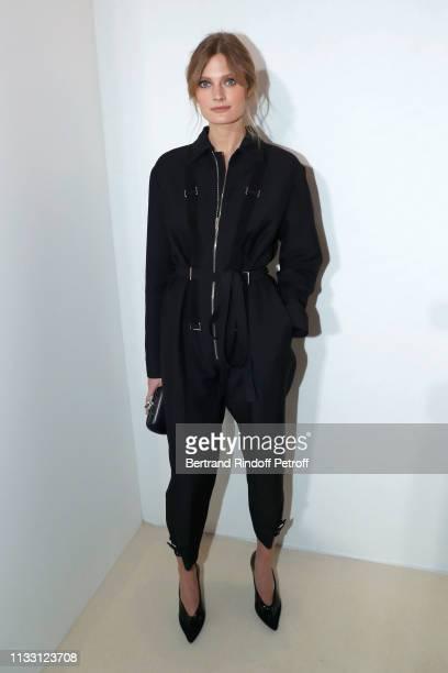 Constance Jablonski attends the LVMH Prize 2019 Edition at Louis Vuitton Avenue Montaigne Store on March 01, 2019 in Paris, France.