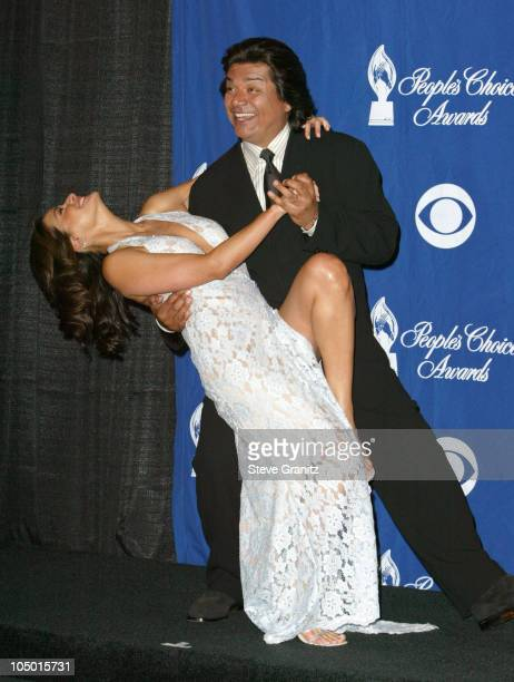 Constance Marie and George Lopez presenters of the award for Favorite Daytime Dramatic Series