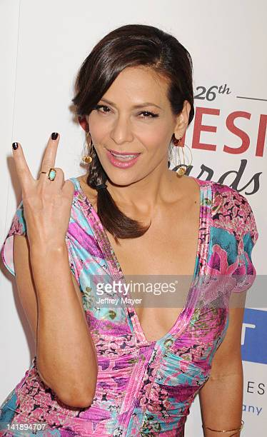 Constance Marie attends the 26th Annual Genesis Awards at The Beverly Hilton Hotel on March 24 2012 in Beverly Hills California