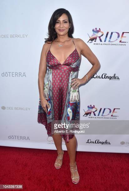 Constance Marie attends the RIDE Foundation's 2nd Annual Dance For Freedon at gala The Broad Stage on September 29 2018 in Santa Monica California