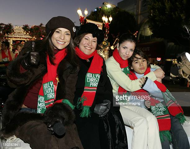 Constance Marie Belita Moreno Masiela Lusha and Luis Armand Garcia from The 'George Lopez Show'