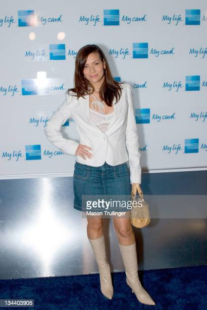 Constance Marie during American Express 'Jam Sessions' at the House of Blues Red Carpet at House of Blues in Los Angeles California United States