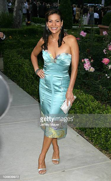 Constance Marie during Chrysalis's 5th Annual Butterfly Ball Arrivals at Italian villa of Carla and Fred Sands in Bel Air California United States