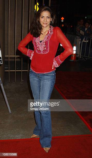 Constance Marie during Melissa Etheridge Liveand Alone The Movie Arrivals at Egyptian Theatre in Hollywood California United States
