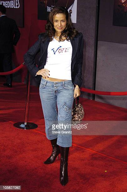 Constance Marie during The Incredibles Los Angeles Premiere Arrivals at El Capitan in Hollywood California United States
