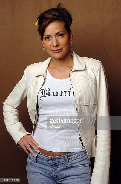 Constance Marie during The Lucky/Cargo Club An Upfront Week Hospitality Suite Portrait Studio Day 2 at Le Parker Meridien in New York City New York...