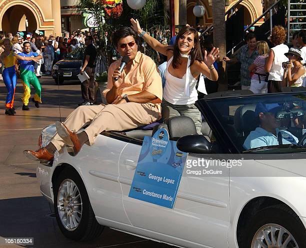 Constance Marie George Lopez during ABC Primetime Preview Weekend at Disney's California Adventure in Anaheim California United States