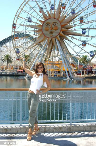 Constance Marie of George Lopez during ABC Primetime Preview Weekend at Disney's California Adventure in Anaheim California United States