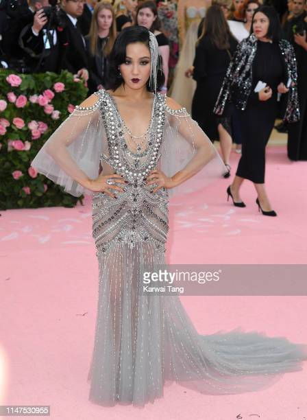 Constance Wu arrives for the 2019 Met Gala celebrating Camp Notes on Fashion at The Metropolitan Museum of Art on May 06 2019 in New York City