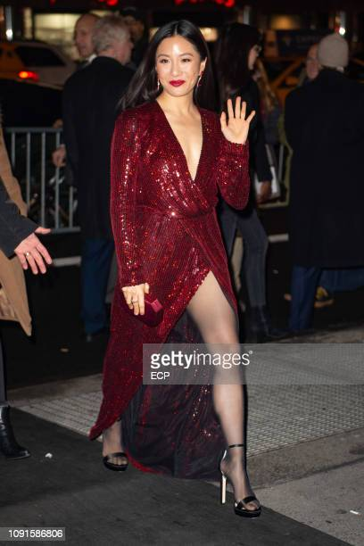 Constance Wu at the 2019 National Board of Review Awards Gala on January 8 2019 in New York City