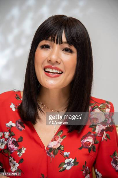 Constance Wu at the Hustlers Press Conference at the Fairmont Royal York on September 07 2019 in Toronto Canada