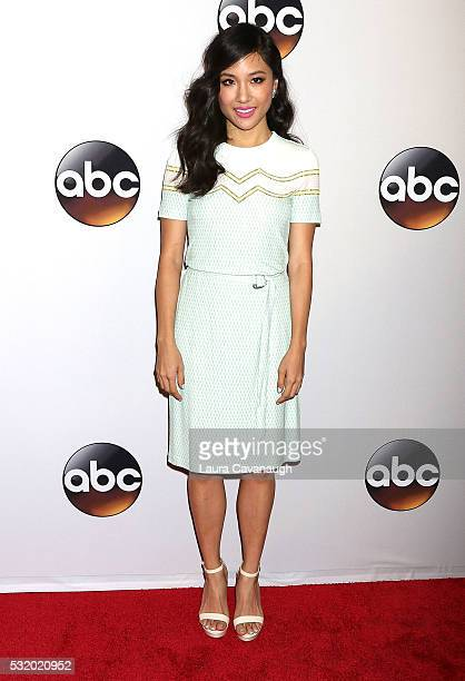 Constance Wu attends 2016 ABC Upfront at David Geffen Hall on May 17 2016 in New York City