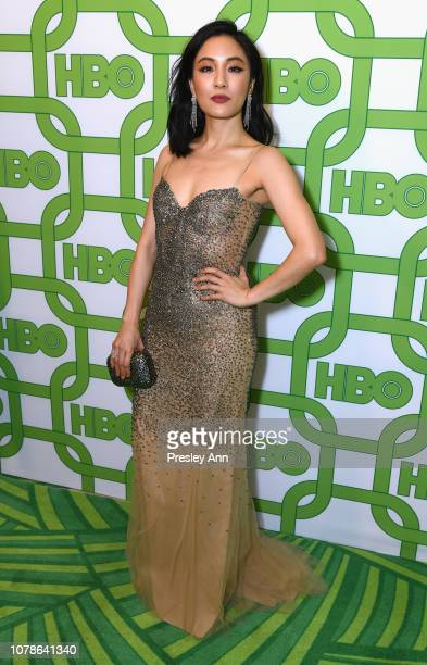 Constance Wu attends HBO's Official Golden Globe Awards After Party at Circa 55 Restaurant on January 6 2019 in Los Angeles California
