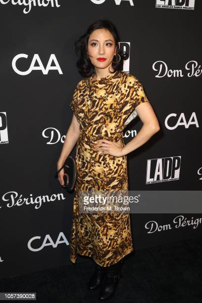 Constance Wu attends LA Dance Project's Annual Gala at Hauser Wirth on October 20 2018 in Los Angeles California