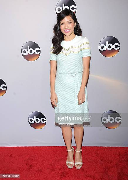 Constance Wu attends the 2016 ABC Upfront at David Geffen Hall on May 17 2016 in New York City