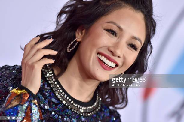 Constance Wu attends the 2018 American Music Awards at Microsoft Theater on October 9 2018 in Los Angeles California