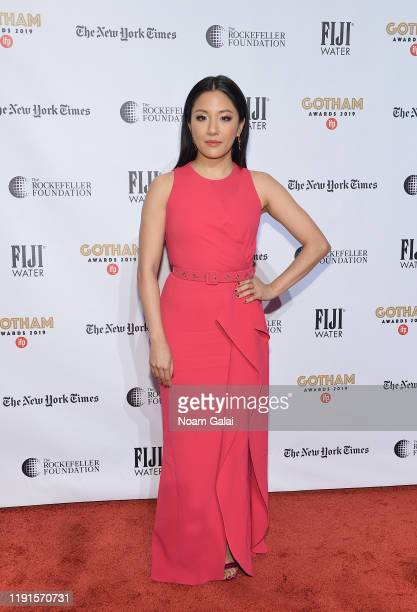 Constance Wu attends the 2019 IFP Gotham Awards with FIJI Water at Cipriani Wall Street on December 02 2019 in New York City