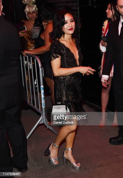 Constance Wu attends the 2019 Met Gala Boom Boom Afterparty at The Standard hotel on May 06 2019 in New York City