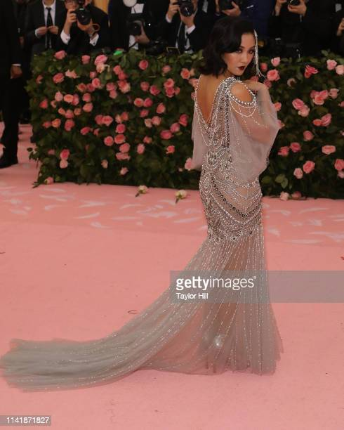 Constance Wu attends the 2019 Met Gala celebrating Camp Notes on Fashion at The Metropolitan Museum of Art on May 6 2019 in New York City