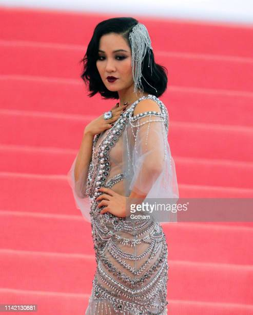 Constance Wu attends the 2019 Met Gala celebrating 'Camp Notes on Fashion' at the Metropolitan Museum of Art on May 06 2019 in New York City