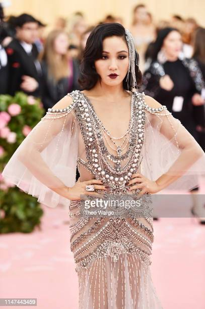Constance Wu attends The 2019 Met Gala Celebrating Camp Notes on Fashion at Metropolitan Museum of Art on May 06 2019 in New York City